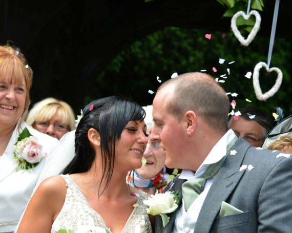 Kelly & Will. St Cuthbert's Church