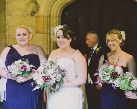 Amy & James. Nostell church, Marquee Reception