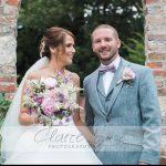 The happy couple weddingflorist saltmarshehall weddinginspiration bride groom bridesbouquet lovehellip