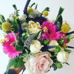 Traceys bouquet weddingflorist weddinginspiration weddingflowers bridesbouquet brightbouquet instaflowers instawedding instalovehellip
