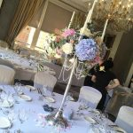 Biggest blousy blooms for todays candelabras just how it shouldhellip