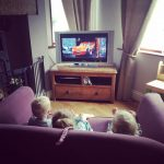 Home cinema  lazyafternoon disneycars rainyday bringuspopcorn