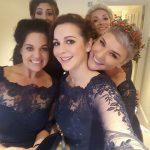 Five of Saras stunning maids!! amysantelopesandanoraks looking AMAZING in herhellip