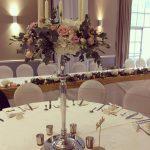 Romantic Classic Dreamy hollinshall blossemyorkshire ilovemyjob meijerroses candleabra rosegold sequinshellip